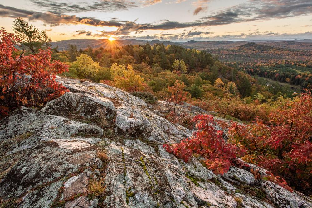 Huron Mountains Autumn